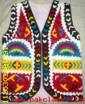 Handmade traditional applique kid