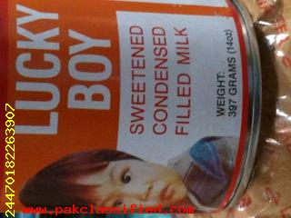 lucky boy condensed milk 397gms