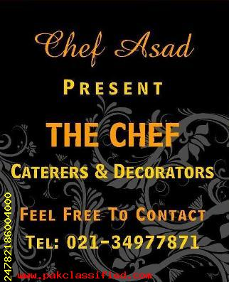 The Chef Caterers & Decorators